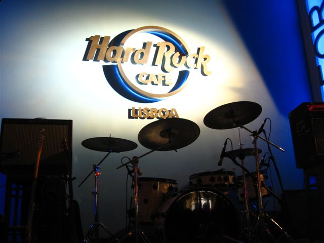 Hard Rock Cafe Lissabon Homepage